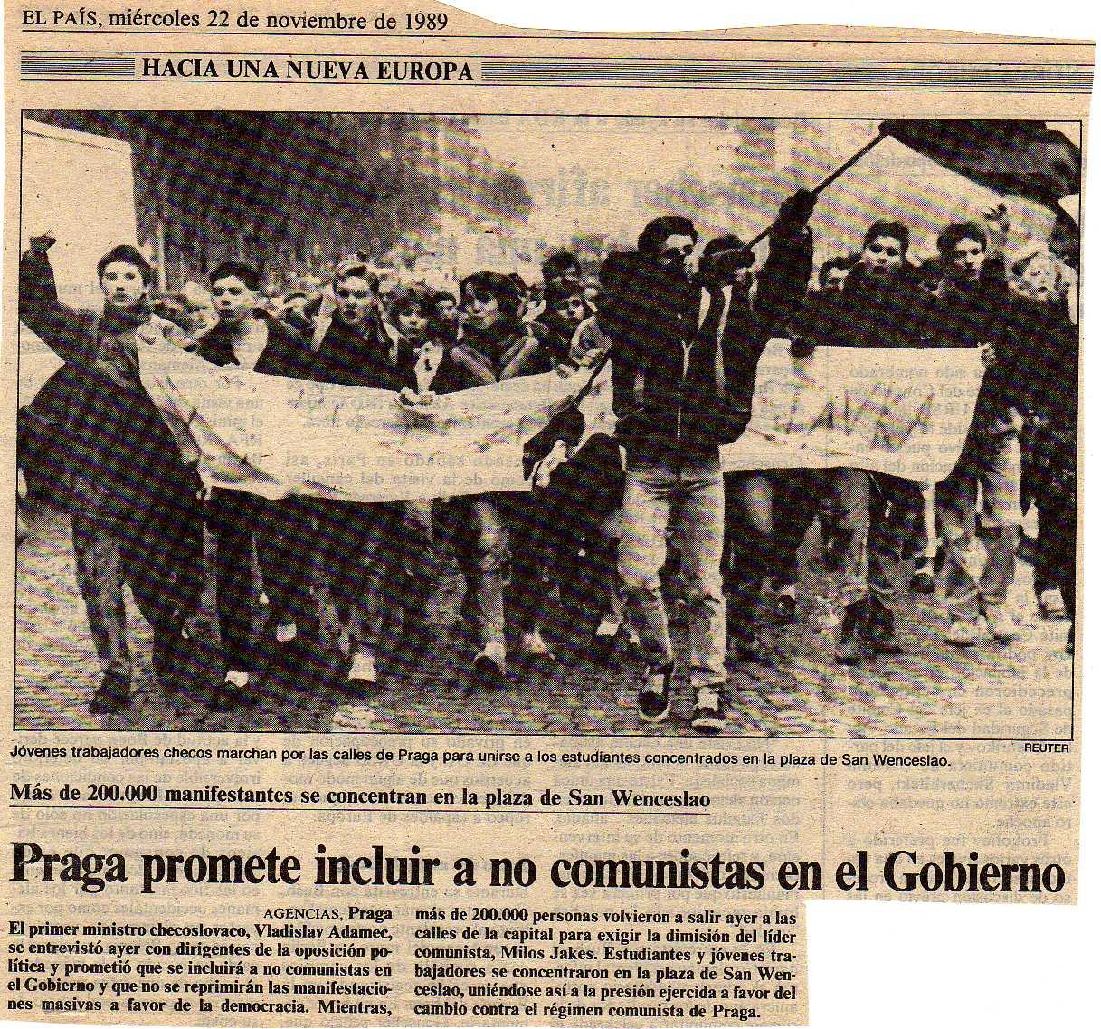 20 de noviembre de 1989: