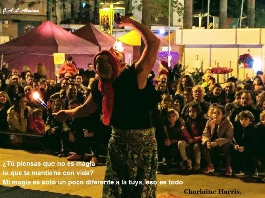 Fotografía de Jose Antonio López Almena. Feria Medieval de Castelldefels. Diciembre 2016