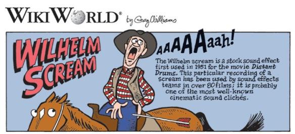 wilhelm scream | HELICON