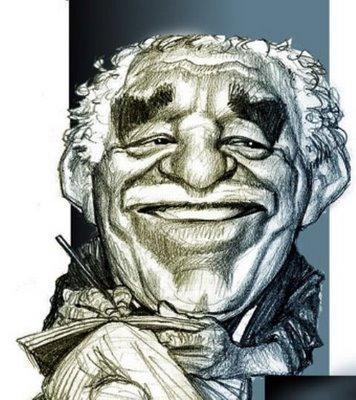 Gabriel Garcia Marquez - Caricatura