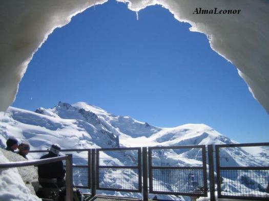 0961 Desde la Aiguille du Midi