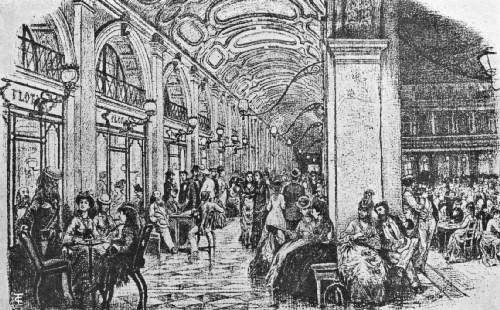 cafe florian san marcos, siglo XIX