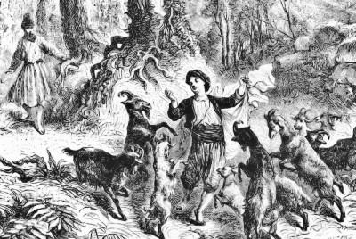 kaldi y la danza de las cabras