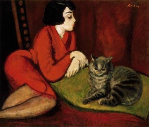 girl-on-divan-with-cat-eta-with-the-cat-by-rbert-berny-wallery-1375551663_b