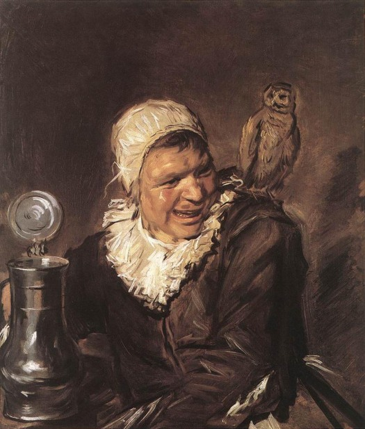 FRANS HALS.- MALLE BABBE