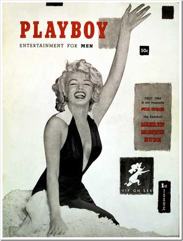 Playboy Marilyn Monroe Cover[9]