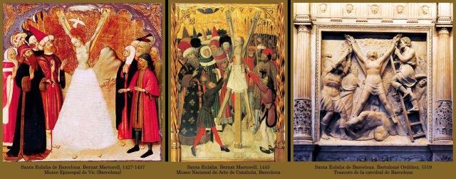 1398 17 Santa Eulalia de Barcelona-Iconografía