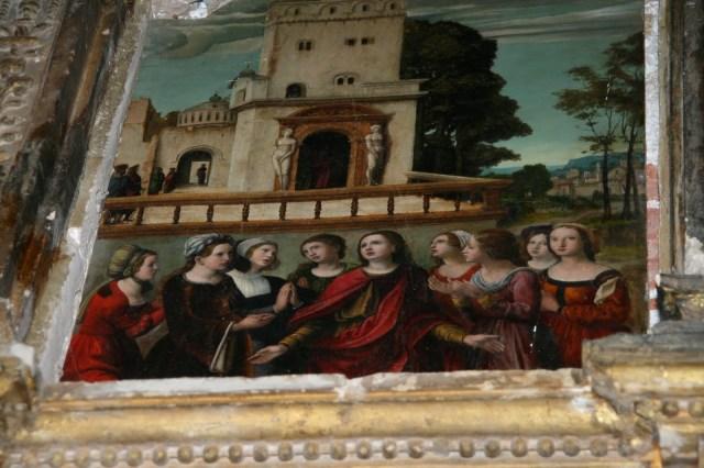 anta Librada y sus ochos hermanas gemelas en Siguenza