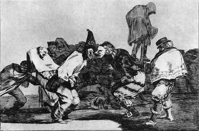 Disparates_14-Disparate de Carnaval- Francisco de Goya y Lucientes