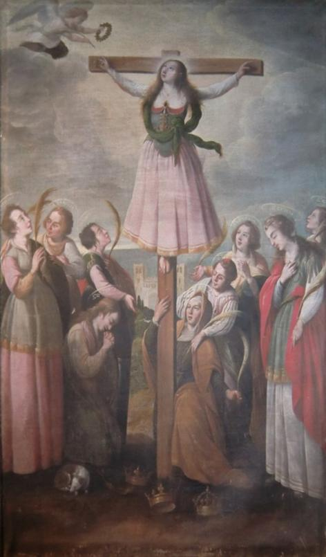 Pedro Ruiz de Salazar, pintura al óleo, 1630, Catedral de Santo Domingo de la Calzada