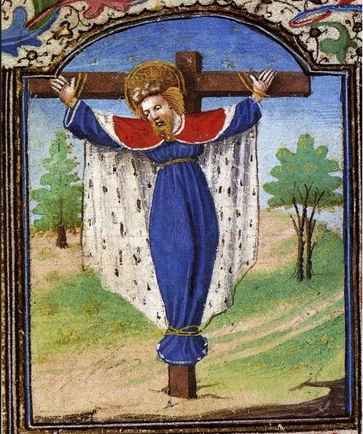 Wilgefortis, libro de horas de Maria de Borgonha, jaime de almeida