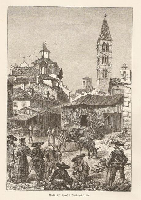 Harry-Fenn-Plaza-del-mercado-Valladolid