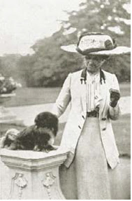 Mrs Becher con Howbury Ming