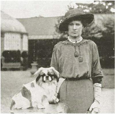Mrs Hunloke con Wingerworth Kou Kou