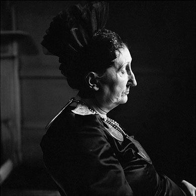 Edith Sitwell by Jane Brown, 1959