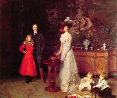 JohnSingerSargent_The Sitwell Family