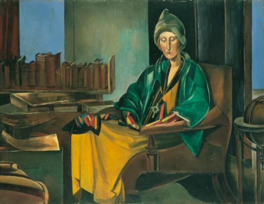 Percy Wyndham Lewis -edith-sitwell-1923-35