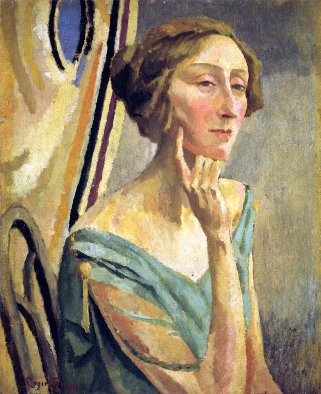 Retrato de Roger Fry Edithsitwell
