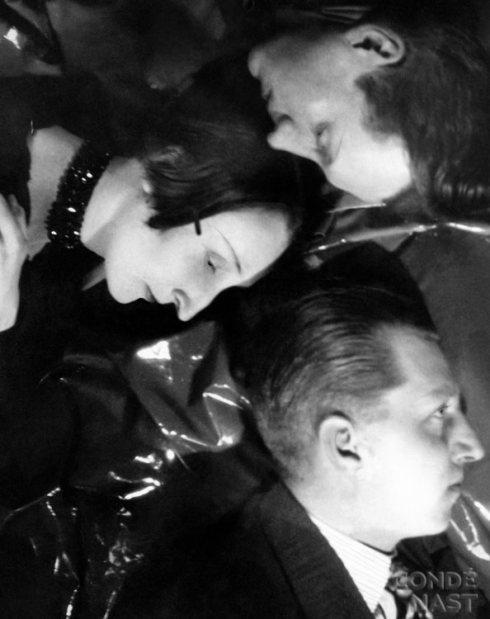 vanity-fair-Edith Sitwell y sus hermanos por Cecil Beaton, 1929