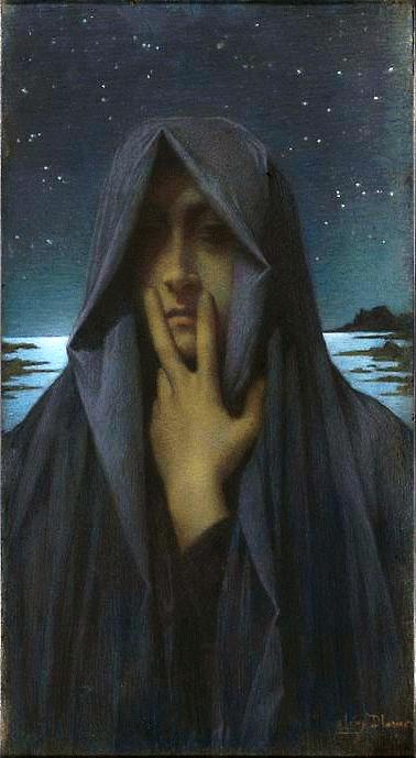 Lucien Lévy-Dhurmer le silence
