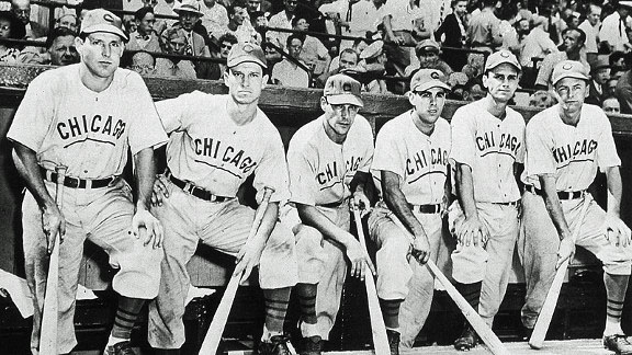 1945 Chicago Cubs Lineup