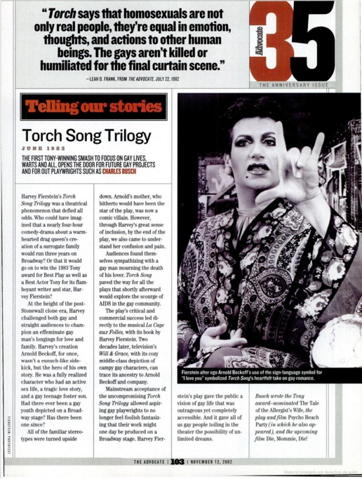 torch song 1988