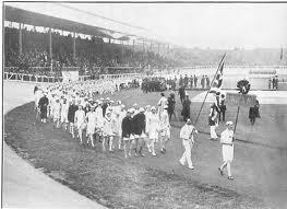 1908 desfile inaugural