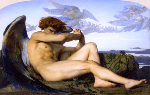 angel caído_Alexandre Cabanel (1847
