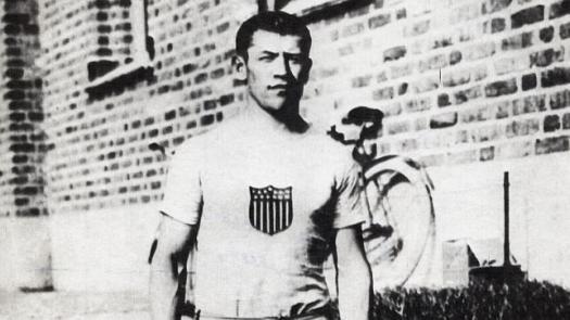 Jim Thorpe durante los Juegos Olímpicos de Estocolmo 1912