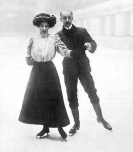 patinadores británicos en los Juegos Olímpicos de Londres, 1908)
