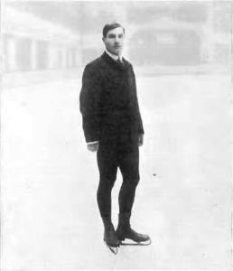 Ulrich Salchow -. En el primer campeón olímpico en patinaje artístico en los Juegos de Londres en 1908