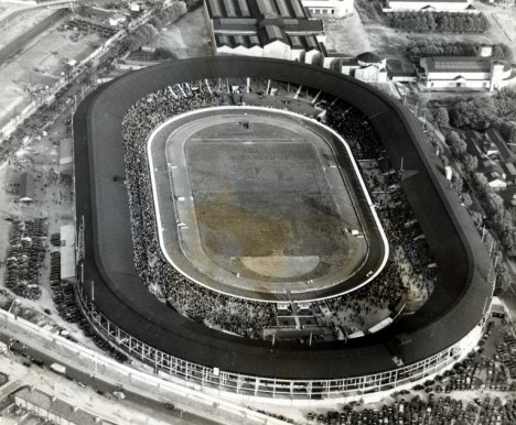 Aerial view of White City Stadium