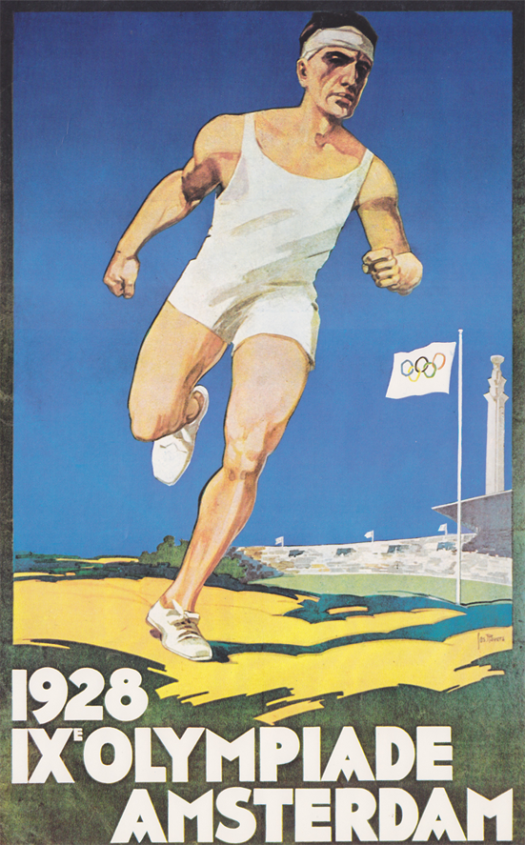 1928-Olympic-Games-Amsterdam-poster - copia