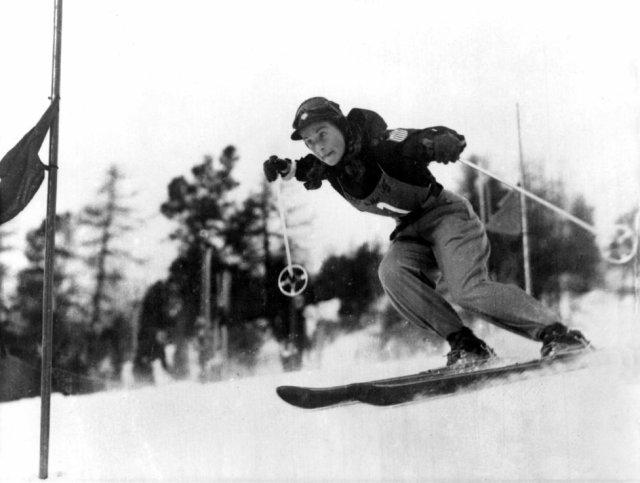1936 esquí alpino femenino que se incorporó en los JJOO de Berlín.