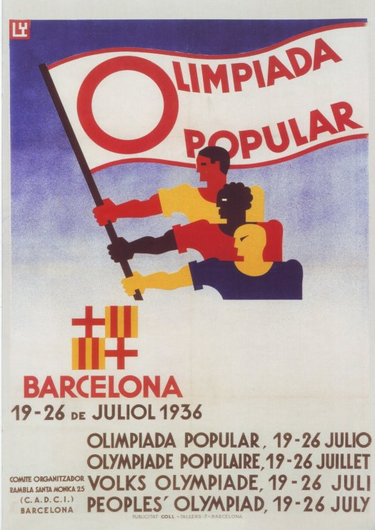 cartel-guerra-olimpiada-popular-barcelona-juliol-1936-franz-lewy
