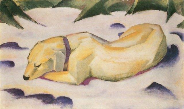 Imagen: Franz Marc (1910-1911)