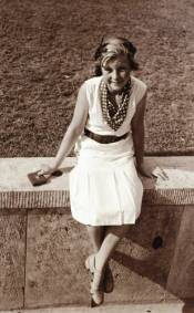 Inge Sorensen (1924-2011) in 1936
