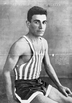 Juan Carlos Zabala en El Gráfico nro.683 del 13-8-1932