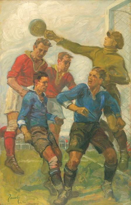 """""""Étude de Sport"""", de Jean Lucien Nicolas Jacoby (1891-1936)"""