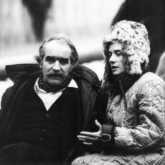 Jean Tinguely y Niki de Saint Phalle en 1982