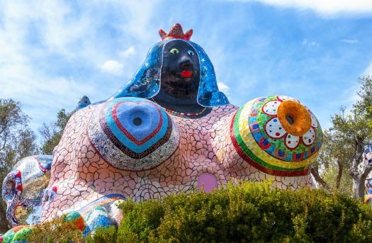 Statua del Giardino dei Tarocchi