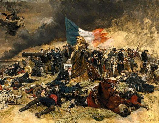 """""""El Sitio de París"""", de Jean-Louis-Ernest Meissonier"""