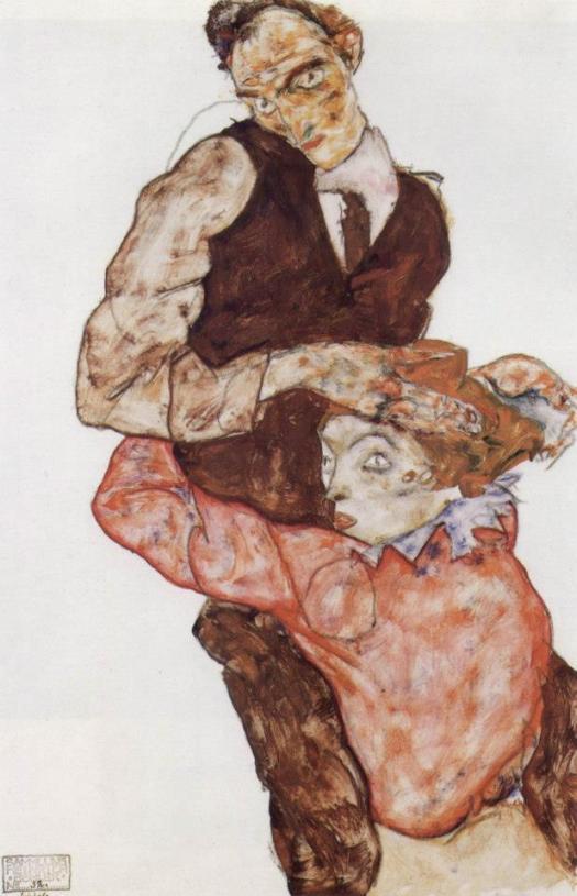 Imagen: Egon Schiele.