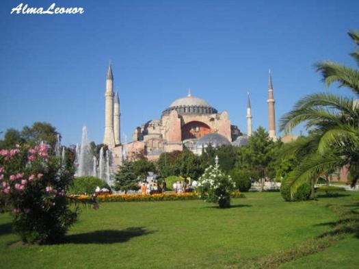Santa Sofia en Estambul (Turquía)
