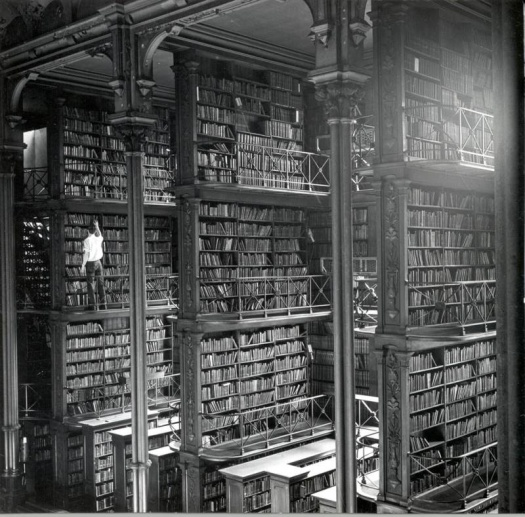 Antigua Biblioteca Pública de Cincinnati en los años 50