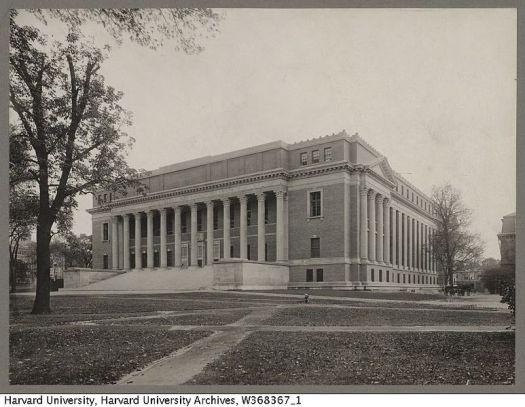 harvarduniversity_widenerlibrary_exteriorfront_c1915