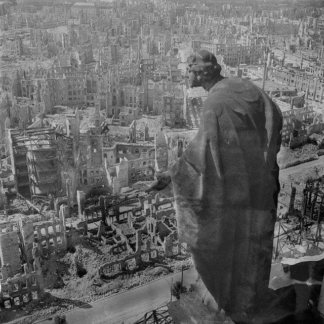 Imagen: Richard Peter. Dresde en 1944