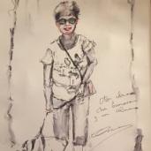 Dibujo de Alicia Prado