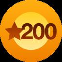 200 me gusta
