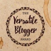 Versatile Blogger Award (marzo 2018)